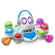 Игрушка музыкальная Mattel Обучающий Осьминог