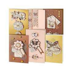"""Набор для создания открыток Белоснежка """"Бабочки"""""""