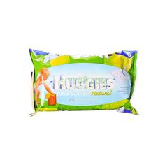 Салфетки Huggies Влажные Ultra Comfort Натуральные 64 шт