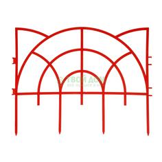 Садовое ограждение Дачная мозаика Роккоко 3 м х 33 см