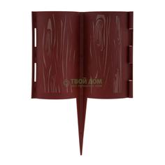 Садовое ограждение Дачная мозаика Лесная сказка 2 м х 18 см
