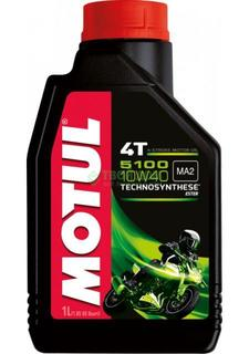 Моторное масло motul 10w40 5100 4t 4л