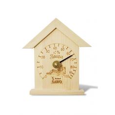 Гигрометр SAWO маленький домик сосна 115 Н