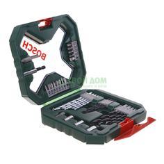 Набор разнотипной оснастки Bosch X-line 34 Green (2607010608)