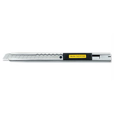 Нож с корпусом из нерж. Стали. 9 мм (OL-SVR-1) Olfa