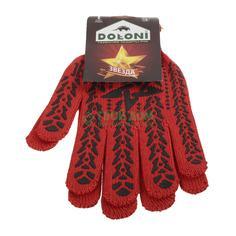 Перчатки Doloni звезда с пвх-рис арт 4040