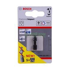 Бита Bosch ударная ph2. 25mm -x1 2608522042
