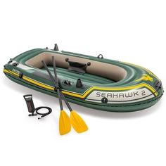 Надувная лодка Intex Seahawk 2 Set 68347