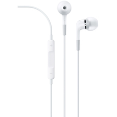 Наушники-вкладыши Apple In-Ear с пультом дистанционного управления и микрофоном White