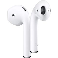 Наушники Apple AirPods в футляре с возможностью беспроводной зарядки
