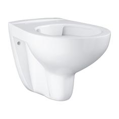 Подвесной безободковый унитаз GROHE Bau Ceramic, (без сиденья), альпин-белый (39427000)