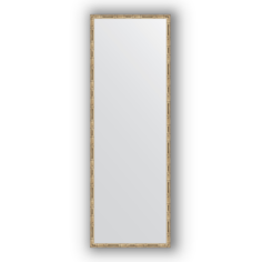 Зеркало в багетной раме Evoform серебряный бамбук 47х137 см