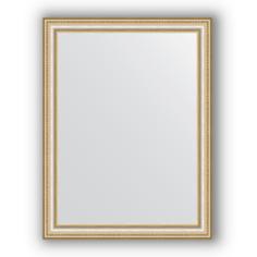 Зеркало в багетной раме Evoform золотые бусы 65х85 см