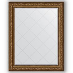 Зеркало в багетной раме Evoform состаренная бронза 100x125 см