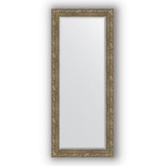 Зеркало в багетной раме Evoform античная латунь 65х155 см