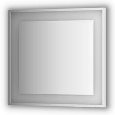 Зеркало в багетной раме Evoform 80x75 см с подсветкой