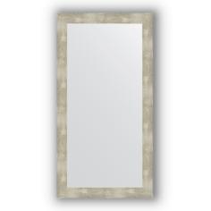 Зеркало в багетной раме Evoform алюминий 54х104 см