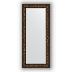 Зеркало в багетной раме Evoform византия бронза 69х159 см