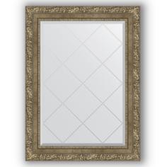 Зеркало в багетной раме Evoform античная латунь 65x87 см