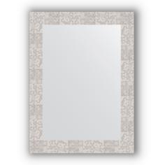 Зеркало в багетной раме Evoform соты алюминий 56х76 см