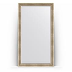 Зеркало в багетной раме Evoform серебряный акведук 112x202 см