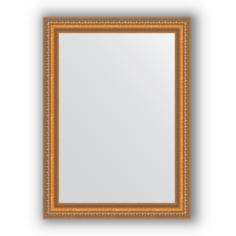 Зеркало в багетной раме Evoform золотые бусы 55х75 см