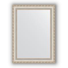 Зеркало в багетной раме Evoform версаль серебро 55х75 см