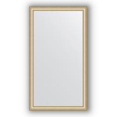 Зеркало в багетной раме Evoform золотые бусы 75х135