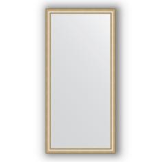 Зеркало в багетной раме Evoform золотые бусы 75х155 см