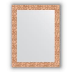 Зеркало в багетной раме Evoform соты медь 66х86 см