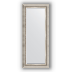 Зеркало в багетной раме Evoform римское серебро 61х146 см