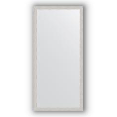 Зеркало в багетной раме Evoform серебряный дождь 71х151 см