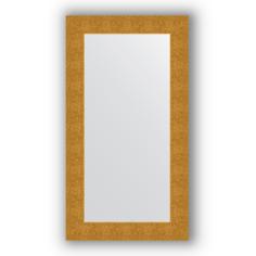Зеркало в багетной раме Evoform чеканка золотая 60х110 см