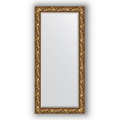 Зеркало в багетной раме Evoform византия золото 79х169 см