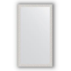 Зеркало в багетной раме Evoform чеканка белая 61х111 см