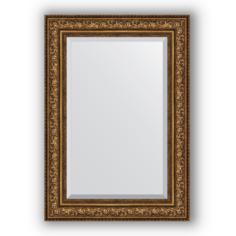 Зеркало в багетной раме Evoform состаренная бронза 70х100 см