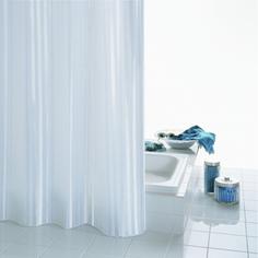 Штора для ванных комнат Satin белый 180*200 Ridder