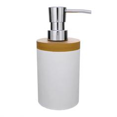 Дозатор для жидкого мыла Ring белый Ridder