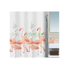 Штора для ванной комнаты Spirella Flamingo 1016355
