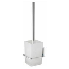 Щетка для унитаза подвесная,матовое стекло WasserKraft