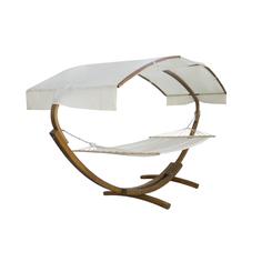 Гамак с крышей на деревянной основе с подушками L.i.j. Crafts (LJ001)
