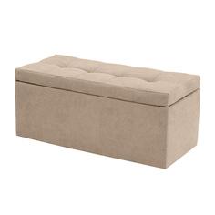 Банкетка Dreambag Лонг Бежевый Велюр 100х46х46 см