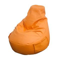 Кресло мешок comfort orange экокожа Dreambag