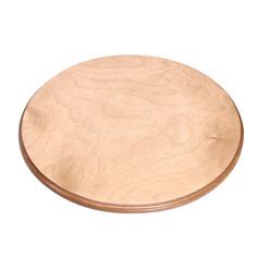 Подставка круг на роликах светлая Элитная керамика