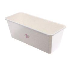 Ящик балконный Пластик центр 60х17х15 см мраморный
