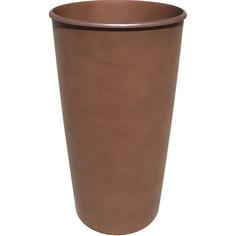 Горшок для цветов 18.5л 28см коричневый Tek.a.tek Тек.А.Тек