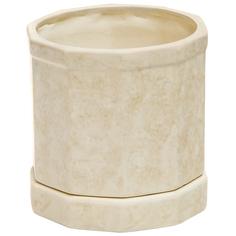 Горшок для цветов Элитная керамика бежевый 15 см
