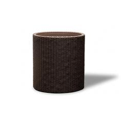 Кашпо Keter Cylinder Planter M коричневое 36 см