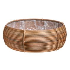 Кашпо Edelman flower santiago bowl d54см h19см коричневое