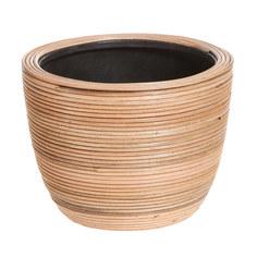 Кашпо Edelman flower santiago bowl d20см h15см коричневое